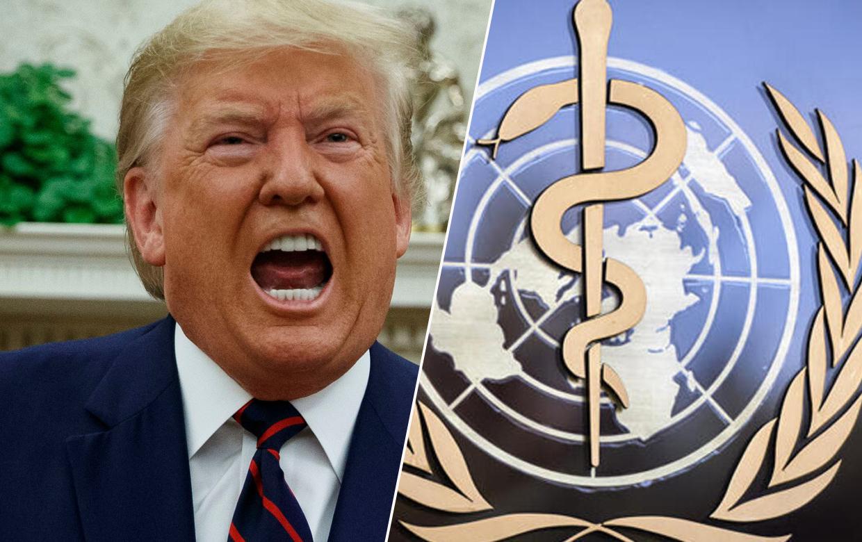 Trump Dünya Sağlık Örgütü ile köprüleri