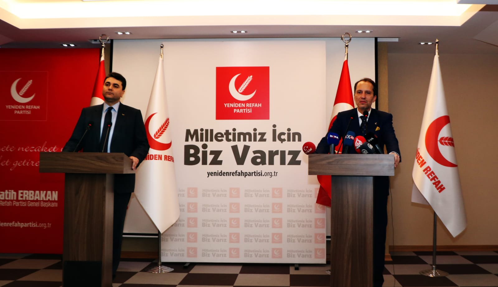 Fatih Erbakan: 'Yerli ve milli bir anayasa için destek vermeye hazırız'