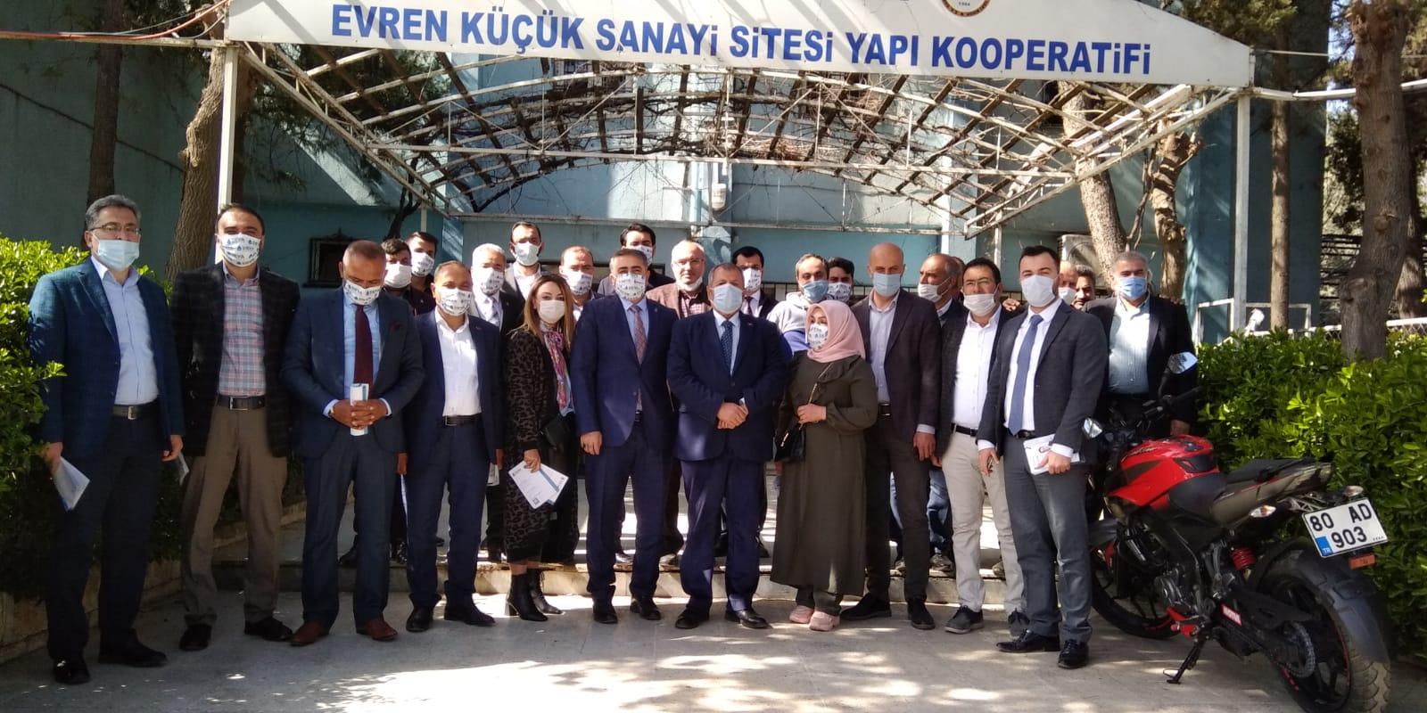 DEVA PARTİSİ'NDEN ARSLAN'A ZİYARET
