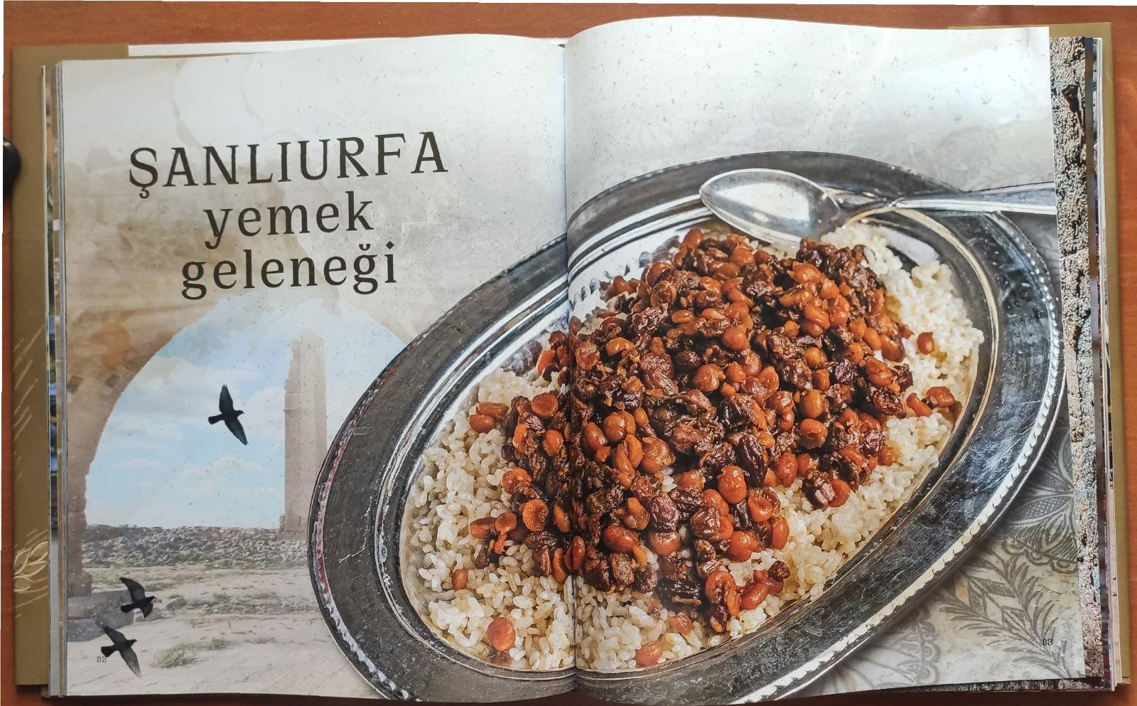 """""""Bereketli Hilal'in Kalbi - Şanlıurfa Mutfak Kültürü"""" Kitabı"""
