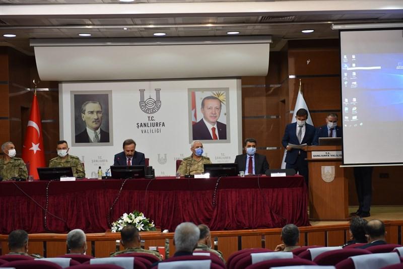 Barış Pınarı Bölgesi Koordinasyon Toplantısı