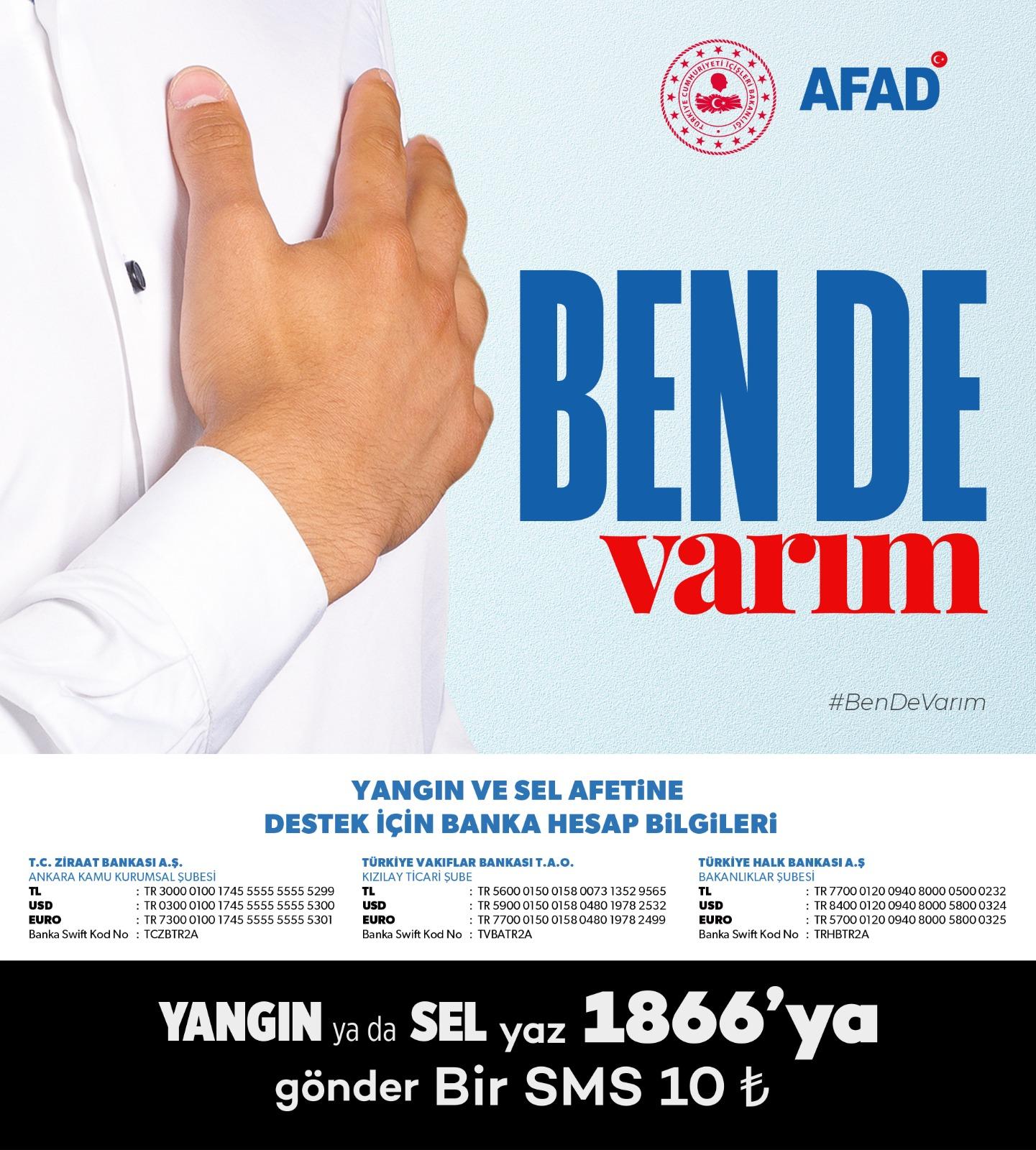 """""""Ben De Varım"""" Yardım Kampanyası"""