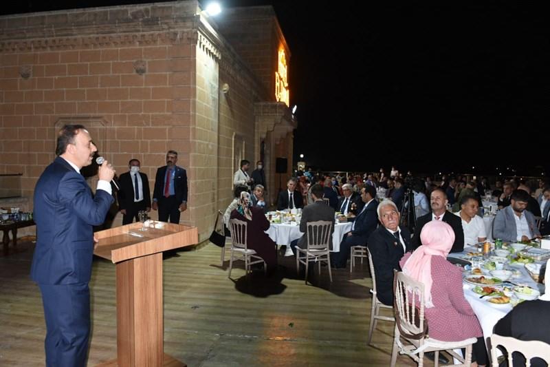 Şanlıurfa'da Şehit ve Gaziler Onuruna Yemek Verildi