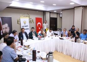 AK Parti Şanlıurfa İl Başkanı Basın Mensuplarıyla Bir Araya