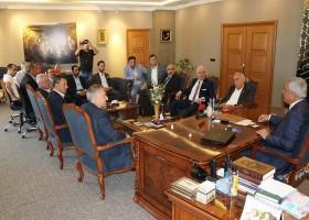 CHP HEYETİ'NDEN BAŞKAN PELTEK'E