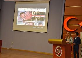 Harran Üniversitesinde Hocalı Katliamının Kurbanları