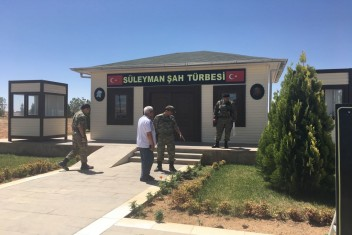 Harran Üniversitesi, Süleyman Şah Türbesini