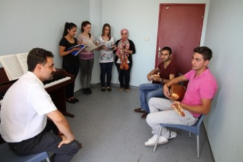 Harran Üniversitesi Konservatuvarı kayıtları