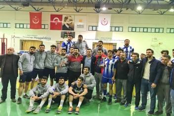 Harran Üniversitesinde Voleybol Takımı Namağlup