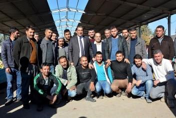 Başkan Atilla, Semt Pazarı Esnafının Sorunlarını