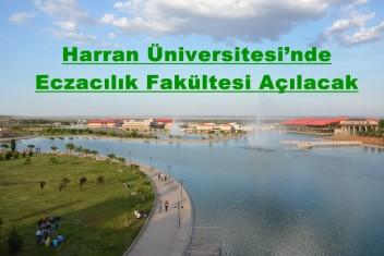Harran Üniversitesi'nde Eczacılık Fakültesi