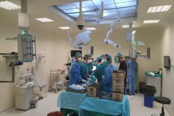 5 adet Ameliyathane ünitesini daha hizmete