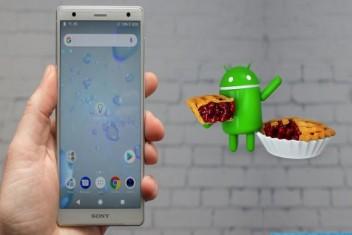 Sony ilk Android Pie güncellemesini