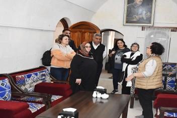 Tarihi Feyzullah Konağını Eski Sahibi Ziyaret