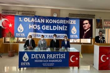DEVA PARTİSİ KONGRELERİNE DEVAM