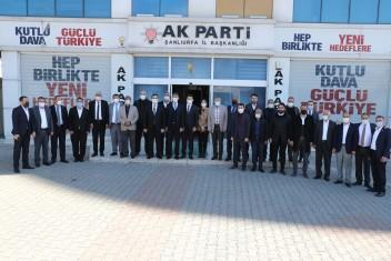 """CANPOLAT'TAN AK PARTİ TEŞKİLATINA """"HAYIRLI OLSUN"""""""