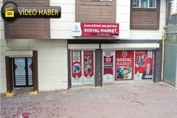 SOSYAL MARKET RAMAZAN AYINDA DA GÖNÜLLERE