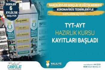 HALİLİYE'DE TYT-AYT KURSU KAYITLARI