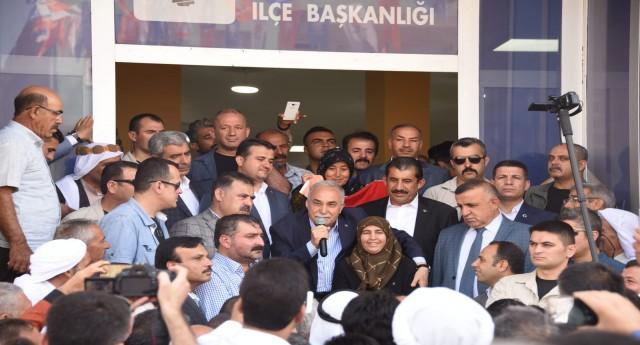 BAKAN FAKIBABA'DAN CEYLANPINAR'A İSTİHDAM MÜJDESİ