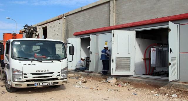 Viranşehir'de hırsızlar kablolara
