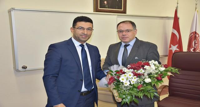 Harran Üniversite Hastanesi Başhekimliğine Ahmet Güzelçiçek