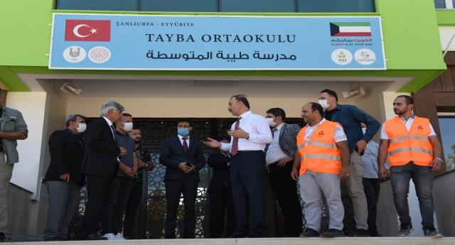 Kuveytli Hayırseverlerin Yapımını Tamamladığı Okullarda Ders