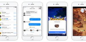 Facebook Messenger ile oyun keyfi